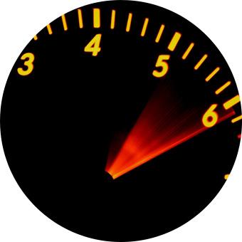 表示速度の高速化、サイト容量の軽量化が可能